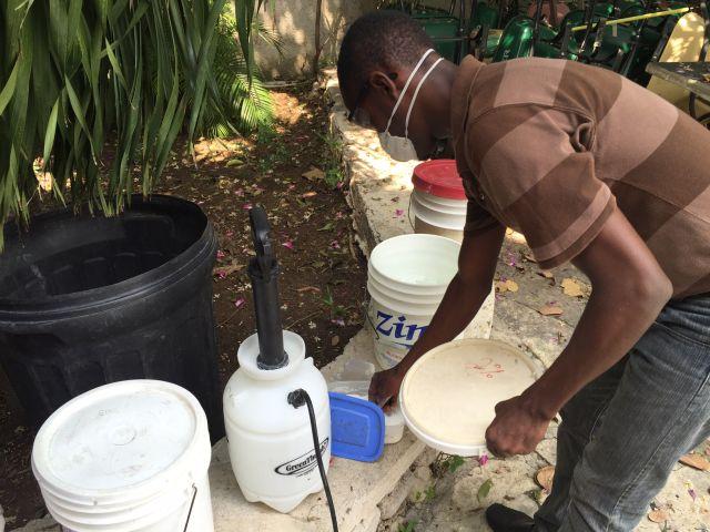 Haiti matthew chloration cholera