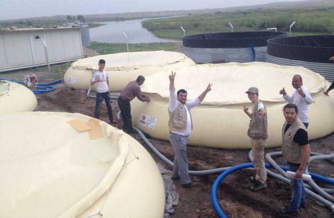 irak mossoul eau